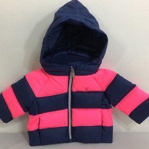NWT Ralph Lauren Polo Baby Girls Down Jacket Sz:3M